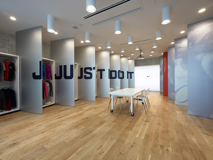 187 Nike Press Room By Torafu Tokyo