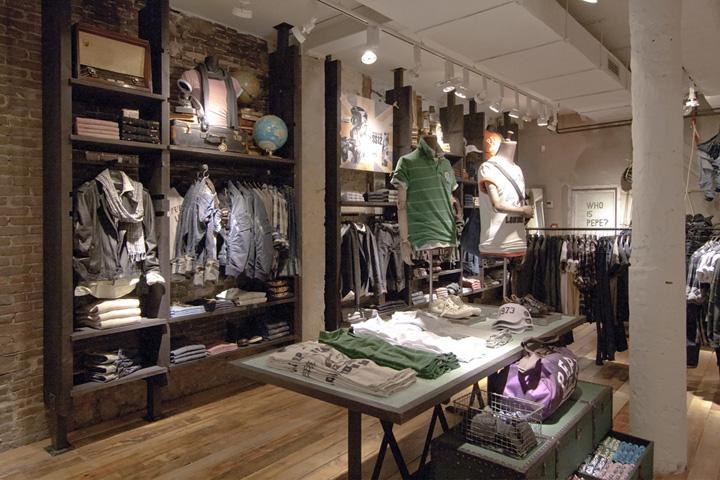 Pepe jeans london flagship store by francisco segarra amsterdam - Pepe jeans showroom ...