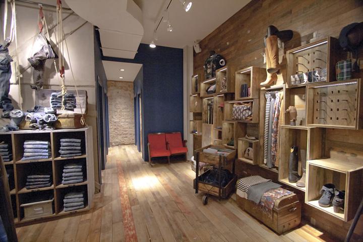 pepe jeans london flagship store by francisco segarra amsterdam
