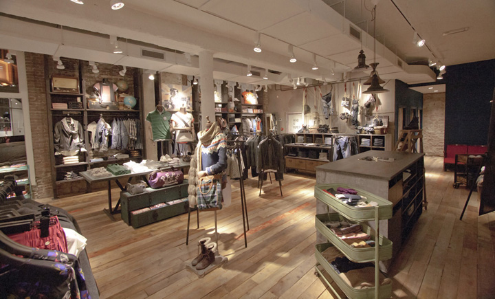 Pepe jeans london flagship store by francisco segarra - Francisco segarra ...
