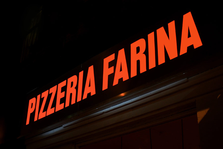 Pizzeria Farina identity design Glasfurd Walker 09 Pizzeria Farina identity & design by Glasfurd & Walker
