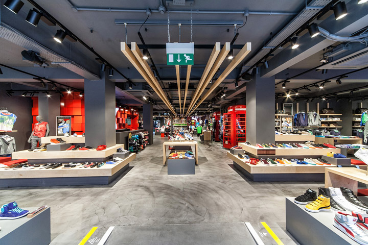 Puma store by Plajer Franz Studio London 02 Puma store by Plajer & Franz Studio, London