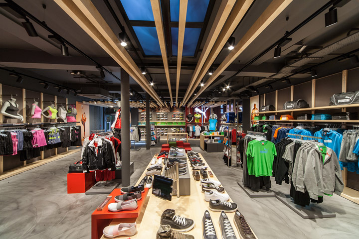 Puma store by Plajer Franz Studio London 03 Puma store by Plajer & Franz Studio, London