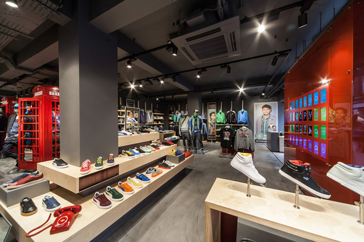 Puma store by Plajer Franz Studio London 05 Puma store by Plajer & Franz Studio, London