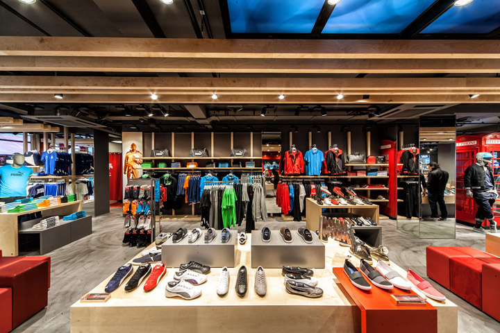 Puma store by Plajer Franz Studio London 09 Puma store by Plajer & Franz Studio, London