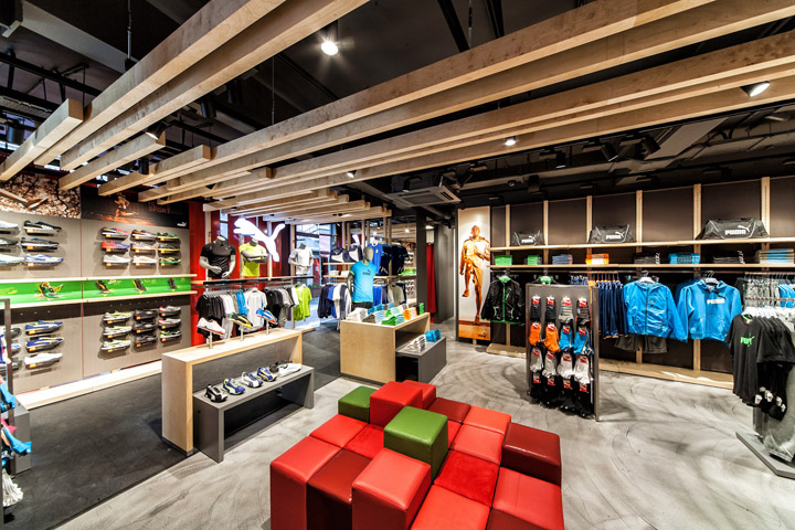 Puma store by Plajer Franz Studio London 10 Puma store by Plajer & Franz Studio, London
