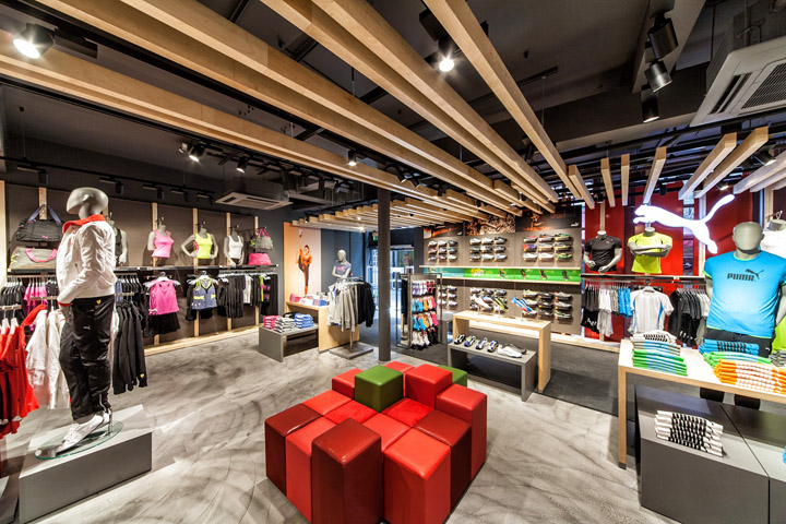 Puma store by Plajer Franz Studio London 12 Puma store by Plajer & Franz Studio, London