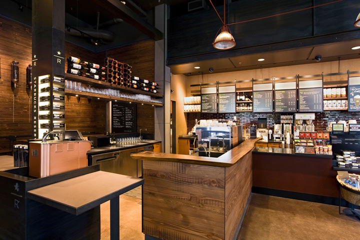 Starbucks Coffee Portland Retail Design Blog