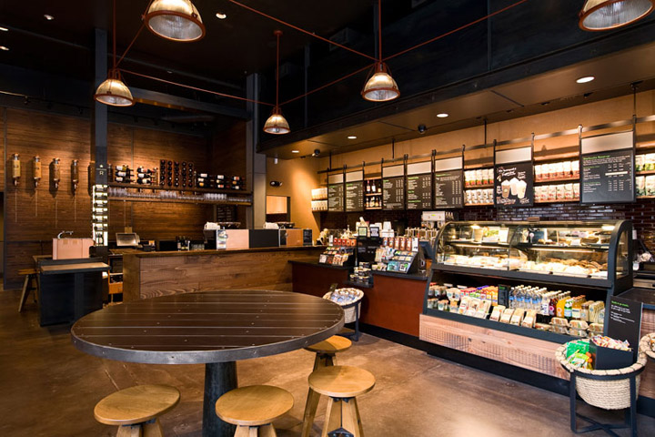 starbucks retail design blog