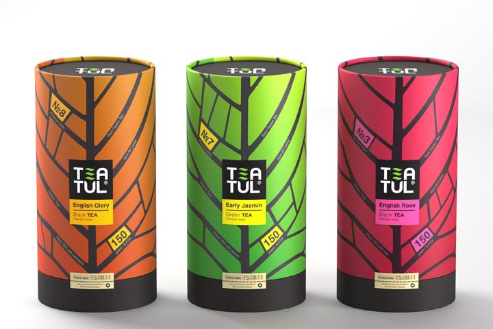 Tea TEATUL packaging Pavla Chuykina Ann Moiseenko Tea TEATUL packaging by Pavla Chuykina, Ann Moiseenko, Nastya Chamkina