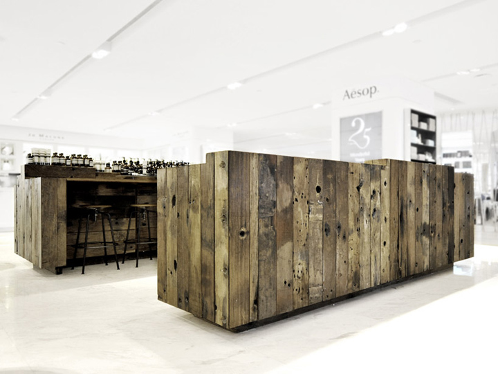 Aesop store installation by cheungvogl hong kong retail for Hk architecture firm