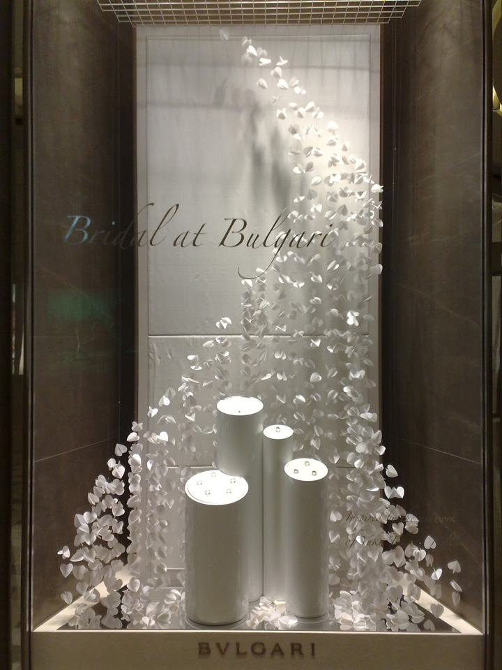 Bulgari Bridal Windows Singapore 187 Retail Design Blog
