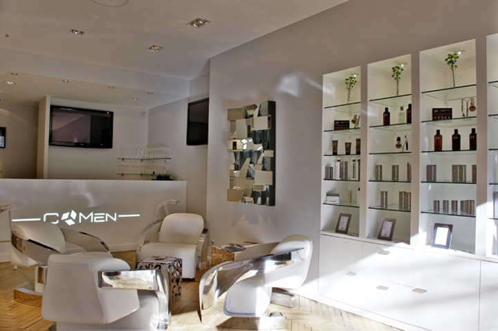 Latest The Furnishing With Decoration Salon Design