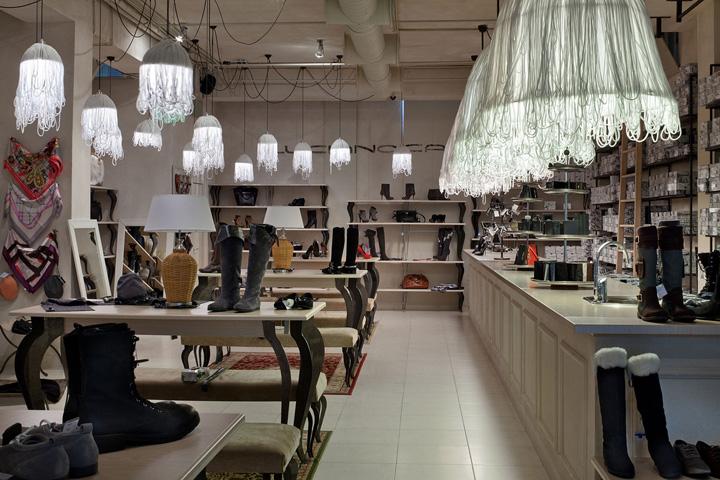 Shoe Stores Carvari Shoes Bar By Belenko Dnepropetrovsk Ukraine Retail Design Blog