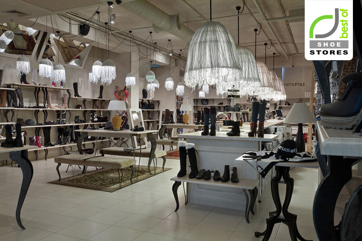187 Shoe Stores Carvari Shoes Bar By Studio Belenko