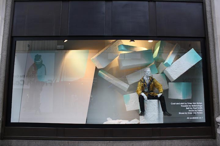Colours Fade Selfridges Duke Street Windows London
