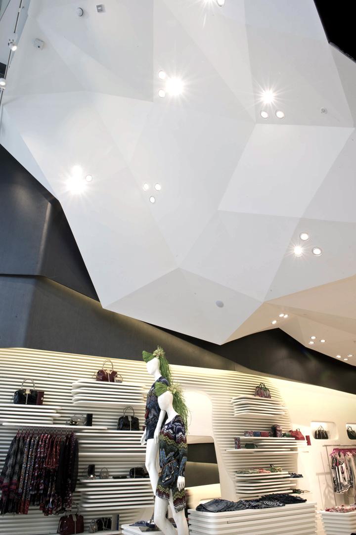 Custo barcelona store by dear design london retail for Retail interior designers in london