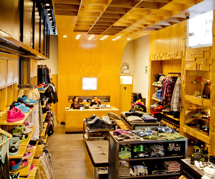 DC Shoes concept store by MF