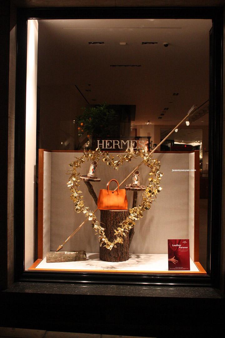 Hermes Leather Forever Windows London 187 Retail Design Blog