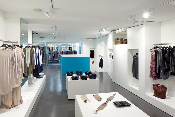 Inside fashion store by s hne partner architekten vienna retail design blog for Fashion retail interior design