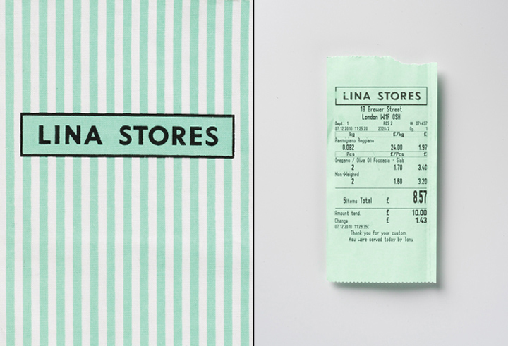 Lina stores branding packaging by Here Design 05 Lina stores branding & packaging by Here Design