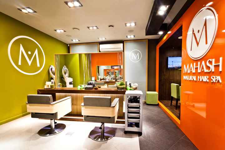 Beauty And Hair Salon : Hair Spa  Reis design created this premium salon & beauty salon ...