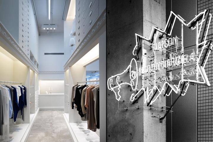 maison martin margiela store nagoya retail design blog. Black Bedroom Furniture Sets. Home Design Ideas