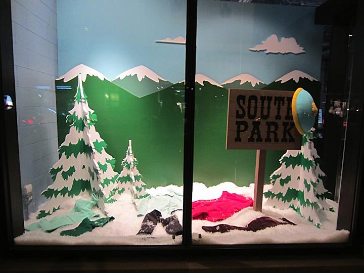 187 Marc Jacobs South Park Windows