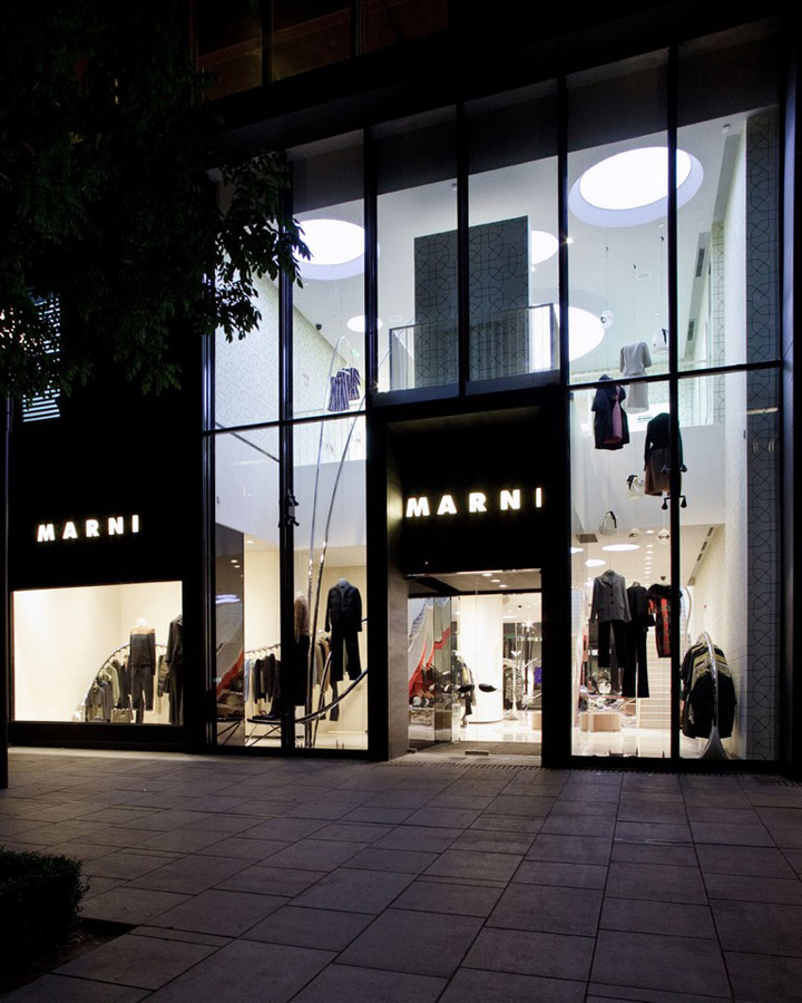 Shop Front Design Retail: » Marni Flagship Store By Sybarite, Beijing