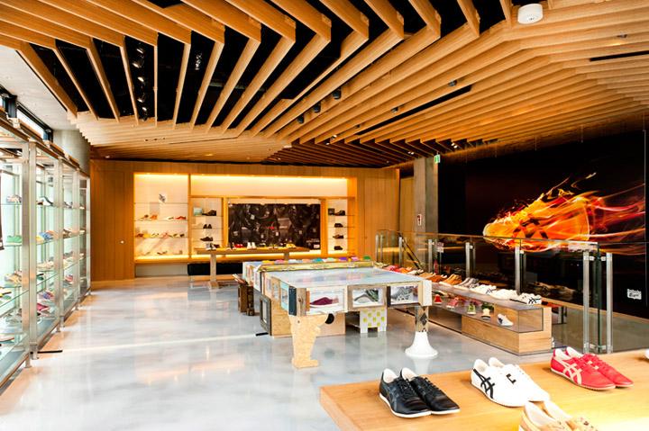 Onitsuka Tiger flagship store Tokyo Retail Design Blog