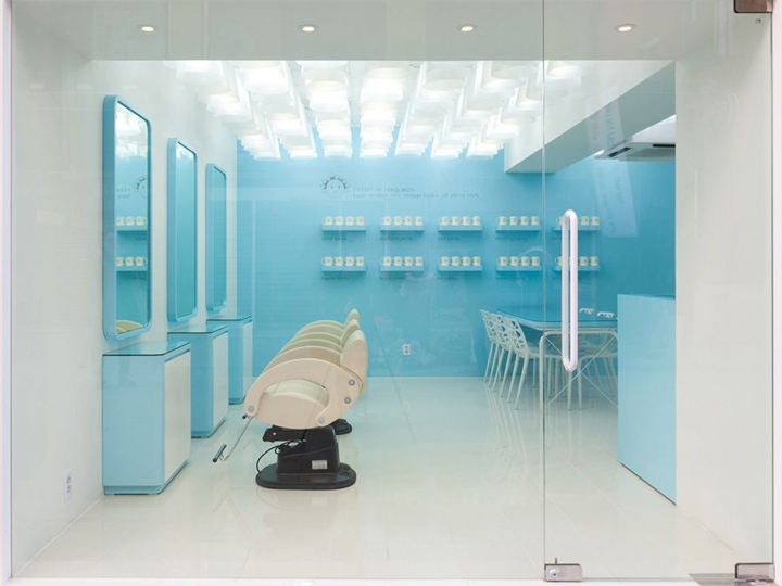 Hairdresser! permy mi jang won salon by m4 interior design, suji ...