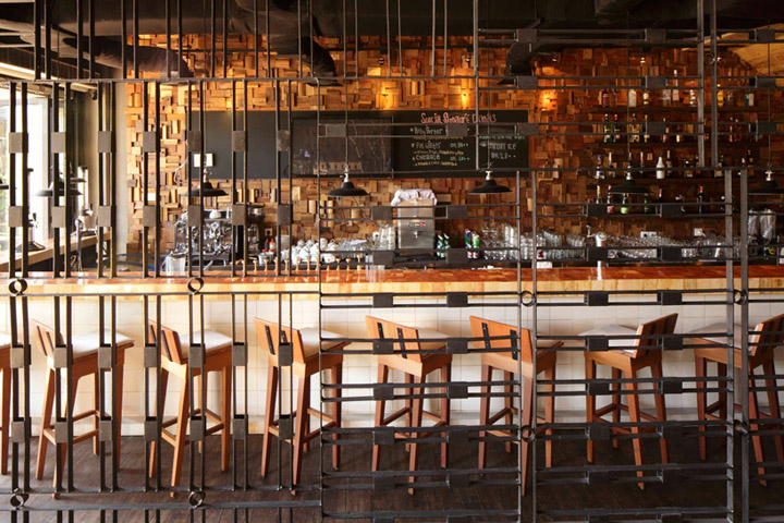 187 Porterhouse Restaurant By Alvint Studio Pantai Indah