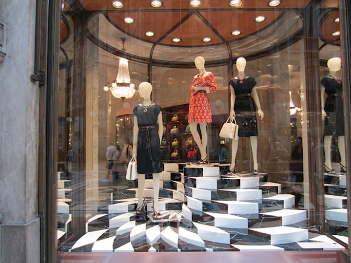 Prada windows, Milan » Retail Design Blog