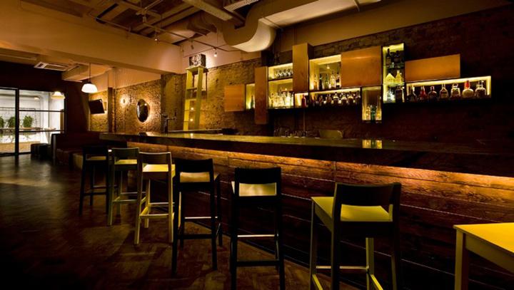 Rewind bar & lounge by Takenouchi Webb, Singapore