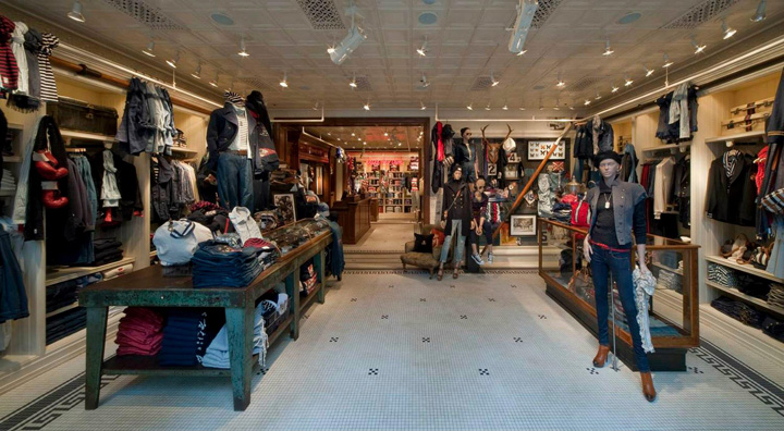Rugby Ralph Lauren store by Michael Neumann Architecture, Nagoya 71f905e5cb3