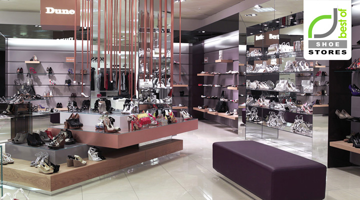 Shoe Stores Shoe Studio Concept By Four By Two