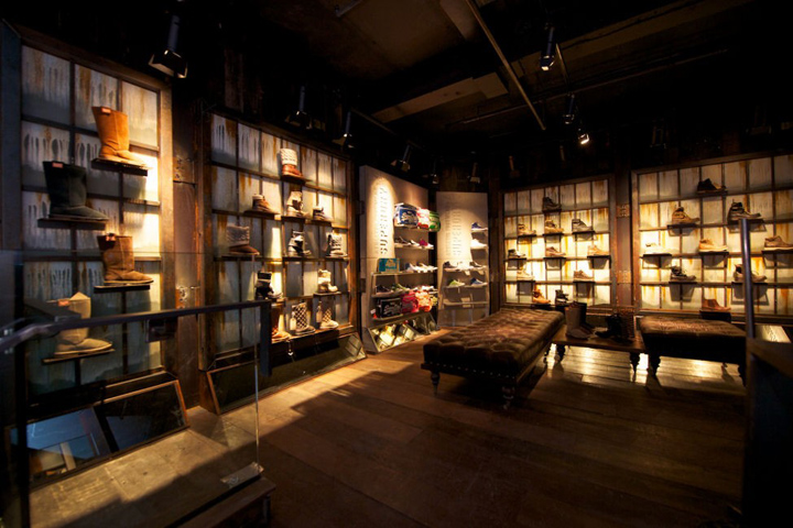Superdry flagship store london retail design blog Interior design stores london