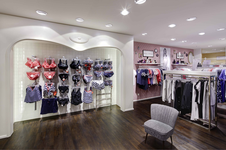 Tc buckenmaier lingerie department by heikaus crailsheim for Department stores that sell furniture