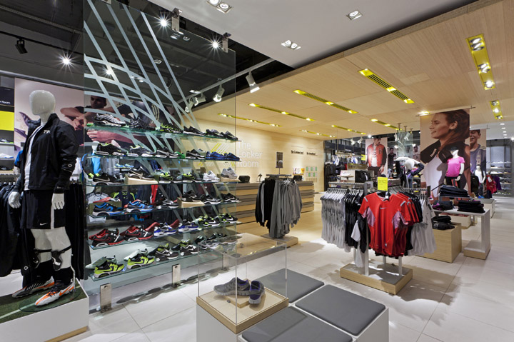 "The Locker Room by Foot Locker"" store by Dalziel and Pow 1ab8ff4c9"