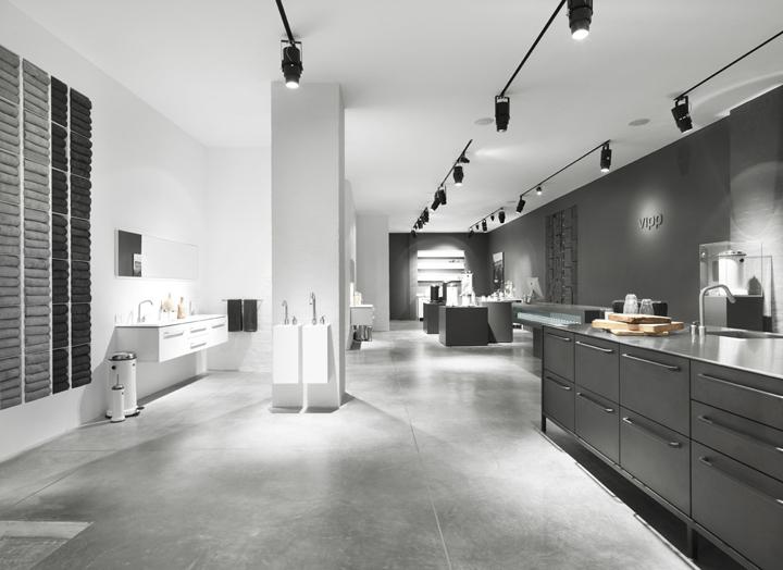 vipp flagship store by morten bo jensen copenhagen. Black Bedroom Furniture Sets. Home Design Ideas