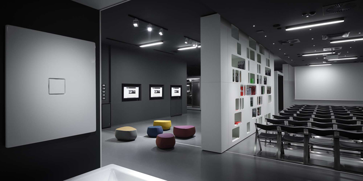 aquaMART sanitary showroom by FLÓ Architects, Budapest » Retail