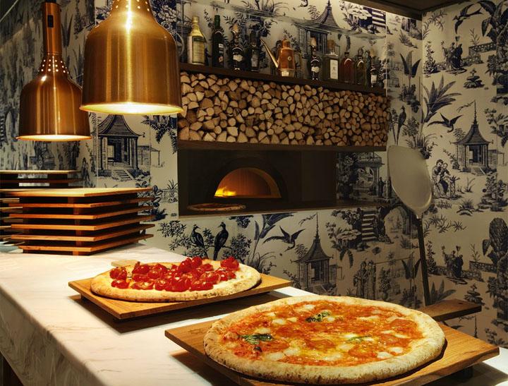 208 duecento otto restaurant by autoban hong kong for Pizza restaurants