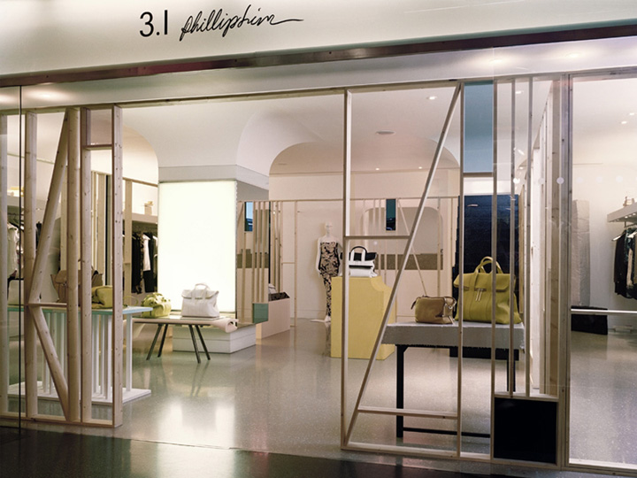 3 1 philip lim pop up boutique by studio toogood london retail design blog. Black Bedroom Furniture Sets. Home Design Ideas