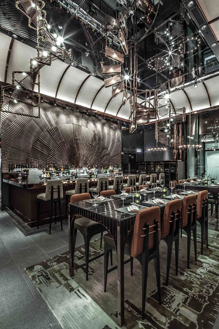 Ammo Restaurant By Joyce Wang, Hong Kong » Retail Design Blog