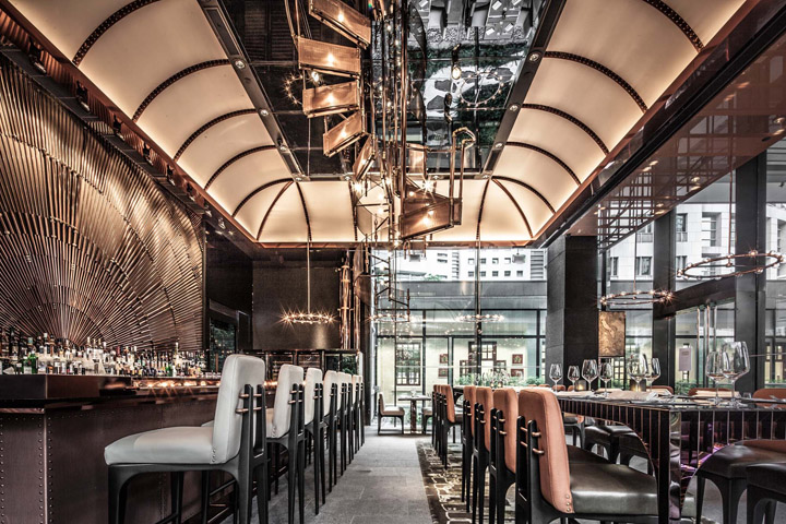 Best Decor Restaurant Hk : Ammo restaurant by joyce wang hong kong retail design