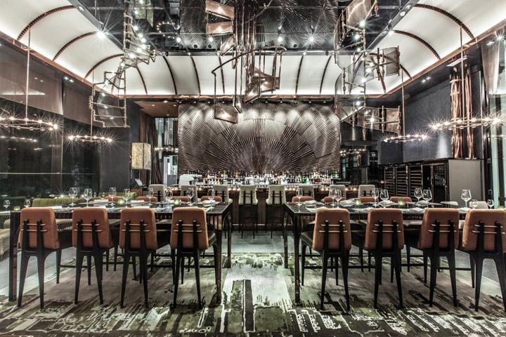 Ammo restaurant by joyce wang hong kong retail design