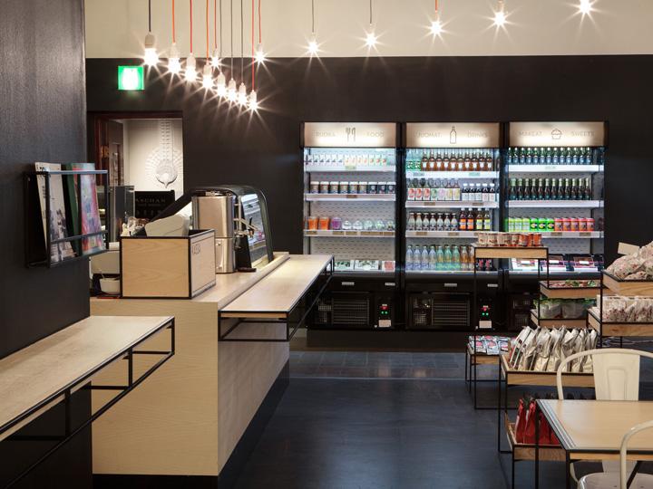 Aschan Deli interior design and branding by BOND Helsinki Retail