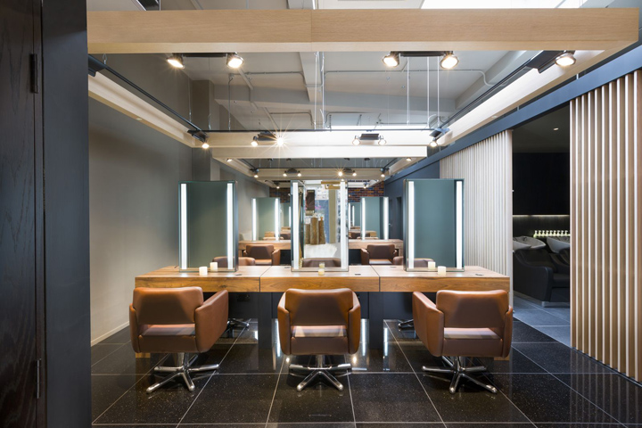 Aveda Lifestyle Salon Spa by Reis Design London Retail Design Blog