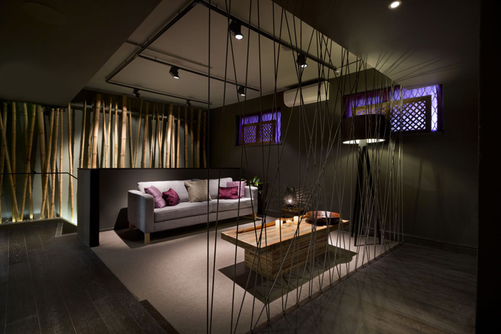aveda lifestyle salon spa by reis design london retail design blog. Black Bedroom Furniture Sets. Home Design Ideas