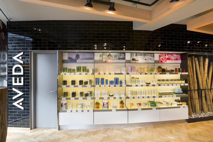 Aveda Lifestyle Salon Spa By Reis Design London 187 Retail